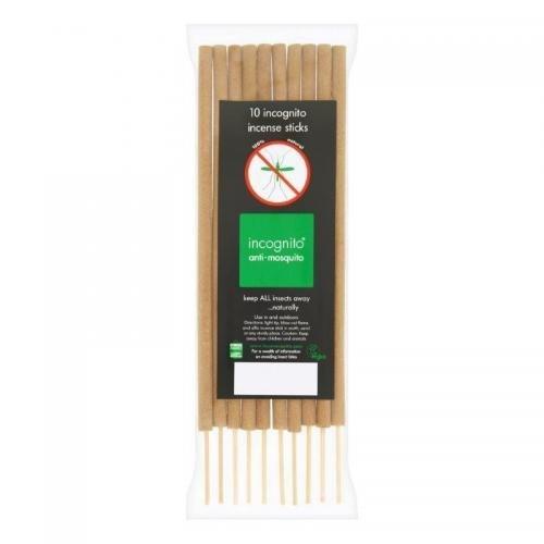 Incognito Repelentní vonné tyčinky (10 ks) - proti komárům a dalšímu hmyzu