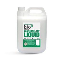 Bio-D Přípravek na mytí nádobí - bez vůně (5 l) - vysoce účinný na mastnotu