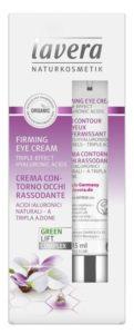 Lavera Zpevňující oční krém BIO (15 ml) - se vzácným karanja olejem