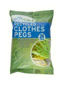 EcoForce Kolíčky na prádlo (24 ks) - z recyklovaného materiálu