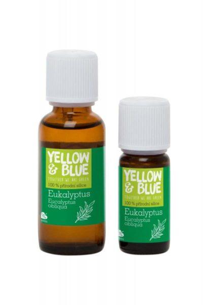 Yellow&Blue Eukalyptová silice (10 ml) - přírodní éterický olej