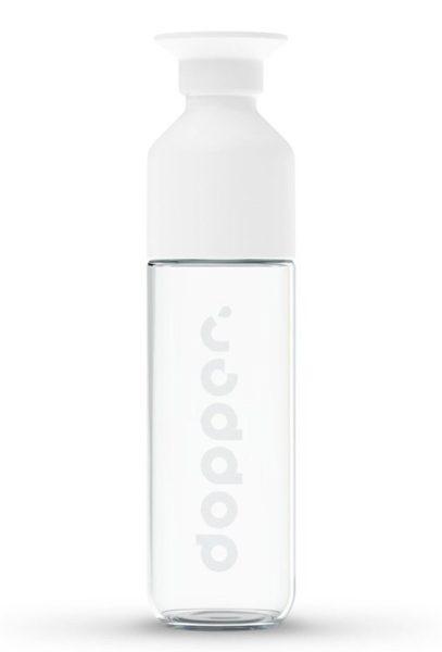 Dopper Skleněná lahev na studené i teplé nápoje (400 ml)
