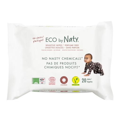 Naty Dětské vlhčené hygienické ubrousky (20 ks) - vhodné i pro velmi citlivou pokožku