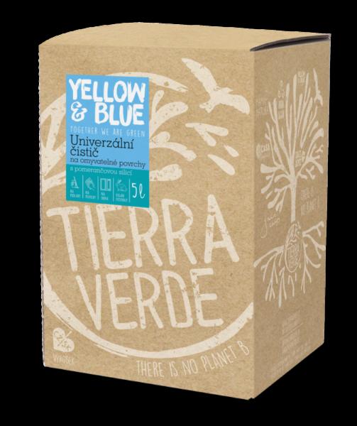 Yellow&Blue Univerzální čistič (5 l) - s pomerančovou silicí