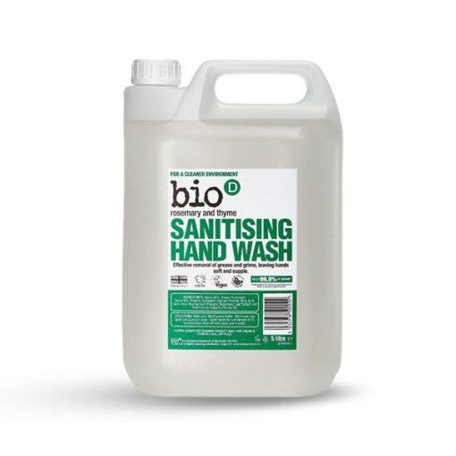 Bio-D Tekuté mýdlo - s vůní rozmarýnu a tymiánu (5 l)