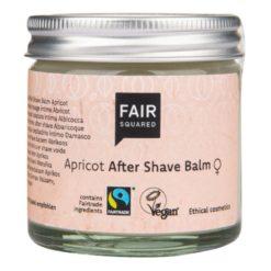 Fair Squared Balzám po holení pro ženy (50 ml) - s meruňkovým olejem