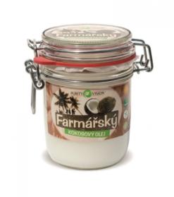 Purity Vision Kokosový olej farmářský (300 ml) - lisovaný za studena