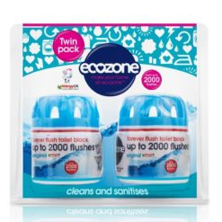 Ecozone Osvěžovač a čistič WC Duo Pack - vydrží až 2.000 spláchnutí