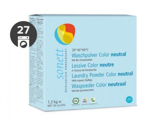 Sonett Prací prášek na barevné prádlo Sensitive BIO (1