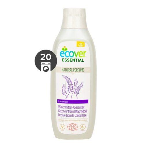 Ecover Essential Koncentrovaný prací gel (1 l) - s levandulí a certifikací ecocert