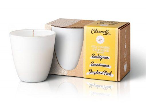 The Greatest Candle Sada - 1x svíčka (130 g) + 2x náplň - citronela