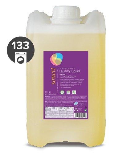 Sonett Univerzální tekutý prací gel na bílé i barevné prádlo BIO (10 l)