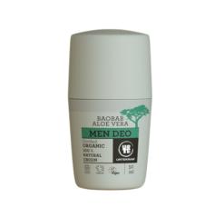 Urtekram Krémový deodorant pro muže s aloe a baobabem BIO (50 ml)