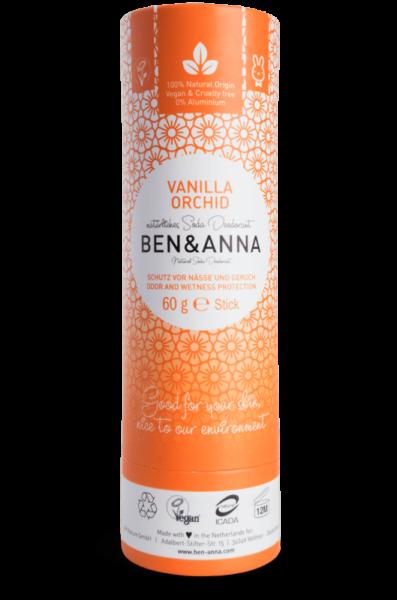 Ben & Anna Tuhý deodorant BIO (60 g) - Vanilková orchidej