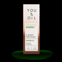 You & Oil Vůně do bytu - Energie (5 ml) - s aromaterapeutickými účinky