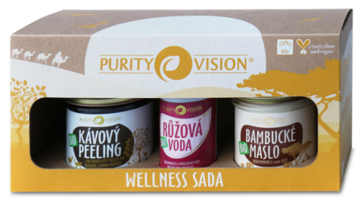 Purity Vision Wellness sada BIO (3 ks) - pro hedvábně jemnou pokožku
