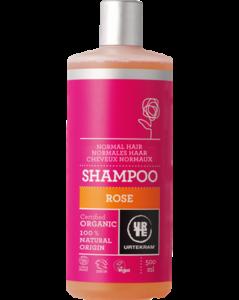 Urtekram Růžový šampon pro normální vlasy BIO (500 ml)
