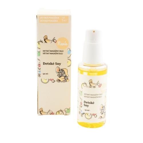Navia Masážní olej po koupání Dětské sny BIO (50 ml) - pro klidné dětské sny