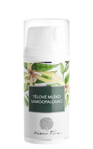 Nobilis Tilia Samoopalovací tělové mléko (100 ml) - s vitaminem e