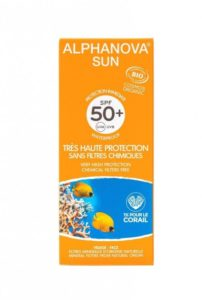 Alphanova Sun Opalovací krém SPF 50+ BIO (50 g) - s exotickou vůní monoï