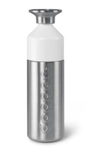 Dopper Steel Nerezová lahev na vodu (800 ml) - uzávěr slouží jako kelímek