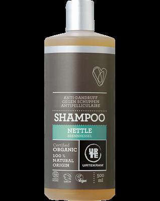 Urtekram Kopřivový šampon proti lupům BIO (500 ml) - s extraktem z kůry magnolie