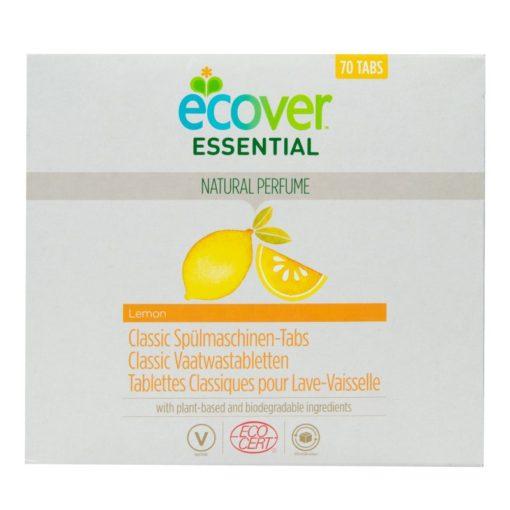 Ecover Essential Tablety do myčky Classic Citron (70 ks) - s certifikací ecocert