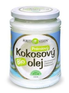 Purity Vision Kokosový olej panenský BIO (600 ml) - za studena lisovaný