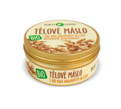 Purity Vision Tělové máslo BIO (150 ml) - s raw bio arganovým olejem