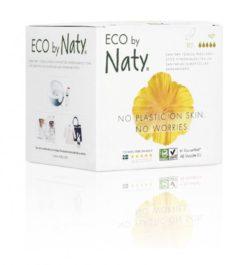 Naty Noční vložky s křidélky (10 ks) - 100% přírodní materiál