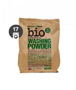 Bio-D Prášek na praní bez vůně (1 kg) - vhodný i pro citlivou pokožku