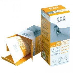 Eco Cosmetics Opalovací krém SPF 25 BIO (75 ml) - 100% přírodní
