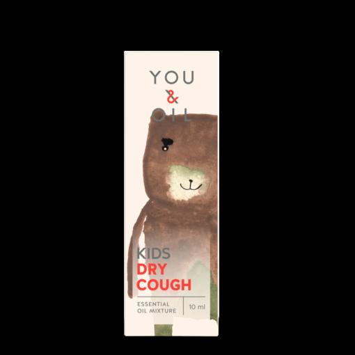 You & Oil KIDS Bioaktivní směs pro děti - Suchý kašel (10 ml) - uleví od nepříjemného kašle