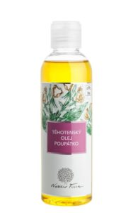 Nobilis Tilia Těhotenský masážní olej Poupátko BIO (200 ml)