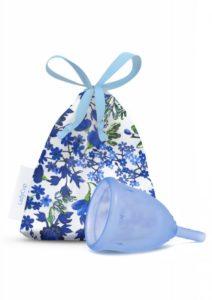 LadyCup Menstruační kalíšek - modrý - malý (S)