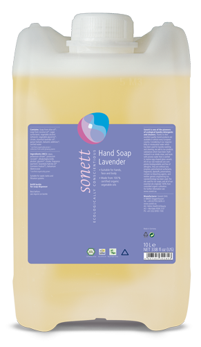 Sonett Tekuté mýdlo - levandule BIO (10 l) - pro vaše ruce