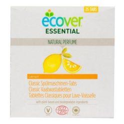 Ecover Essential Tablety do myčky Classic Citron (25 ks) - s certifikací ecocert