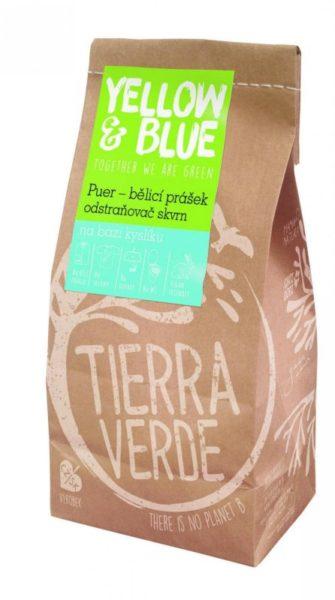 Yellow&Blue Puer - bělící prášek pro praní (sáček 1 kg)