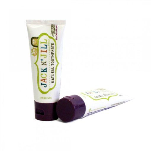 Jack n' Jill Dětská zubní pasta - černý rybíz BIO (50 g)