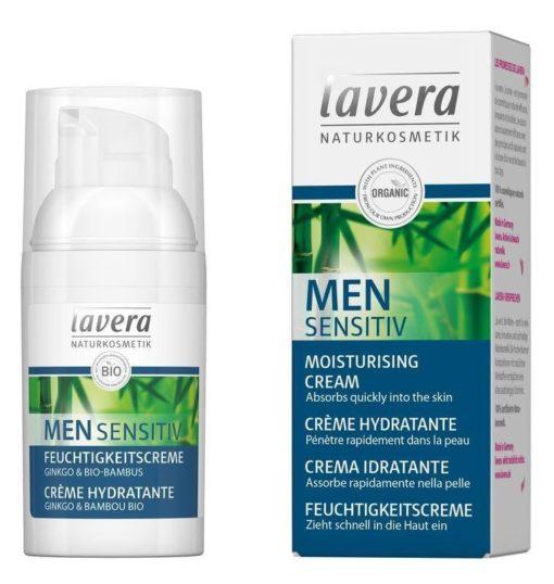 Lavera Hydratační krém pro muže Sensitive BIO (30 ml) - se zklidňujícími učinky