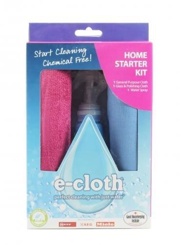 E-cloth Startovací sada hadříků (2 ks) a rozprašovač - pro úklid celé domácnosti