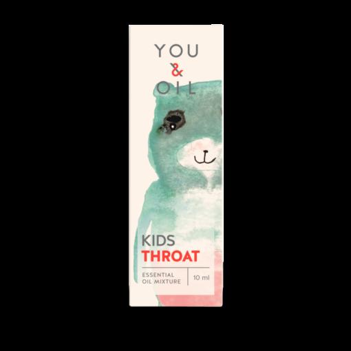 You & Oil KIDS Bioaktivní směs pro děti - Bolest v krku (10 ml)