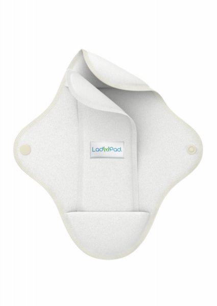 LadyPad Látková vložka s vkládací vložkou (L) - bílá
