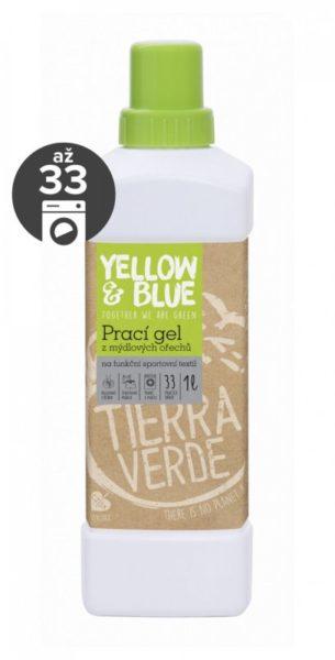 Yellow&Blue Prací gel na funkční textil (1 l) - bio