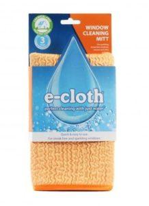 E-cloth Rukavice na mytí skel - vhodná i pro mytí auta