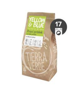 Yellow&Blue Prací prášek na bílé prádlo a látkové pleny (papírový sáček 850 g)