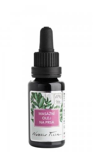 Nobilis Tilia Masážní olej na prsa BIO (20 ml) - úleva při potížích s kojením