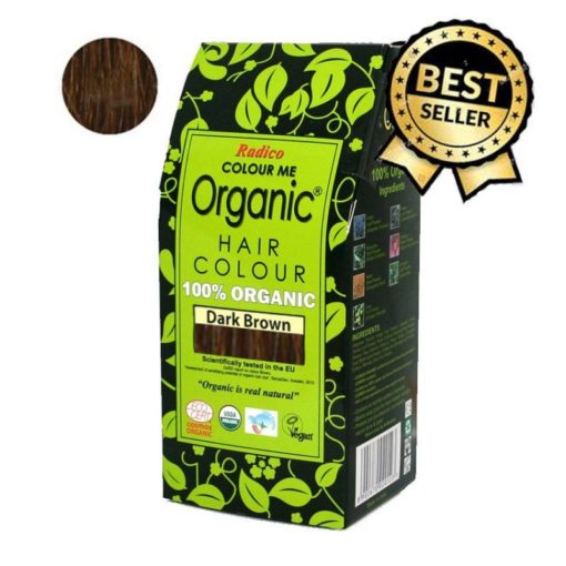 Radico Přírodní barva na vlasy BIO (100 g) - tmavě hnědá
