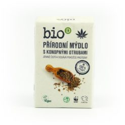 Bio-D Mýdlo s konopnými otrubami (95 g) - ručně vyráběné