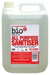 Bio-D Univerzální čistič s dezinfekcí (5 l) - s pomerančovým olejem